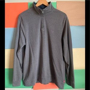 Izod Quarter Zip Longsleeves top size L